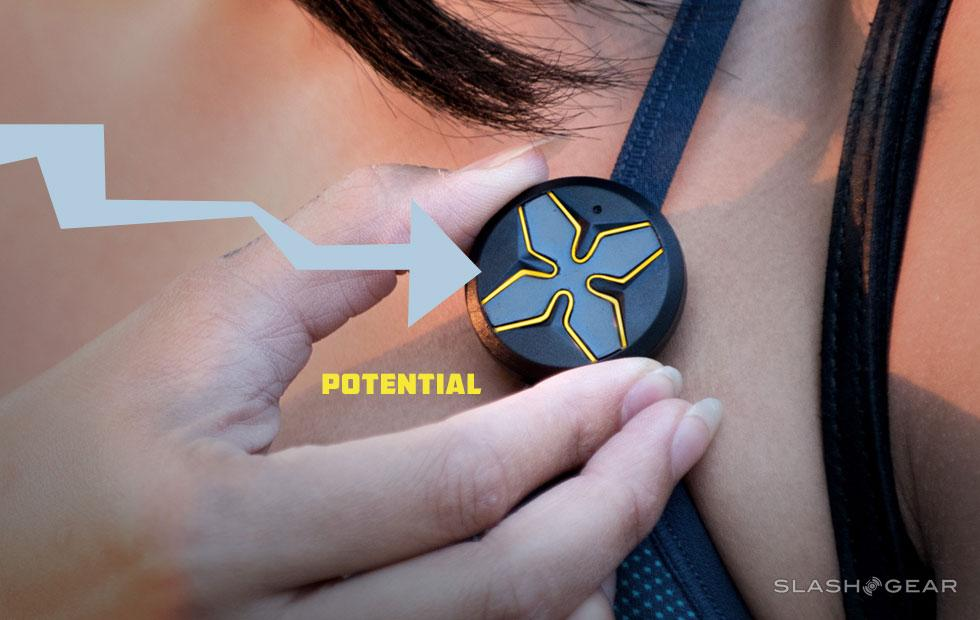 Lotus is a wearable panic button, sort of
