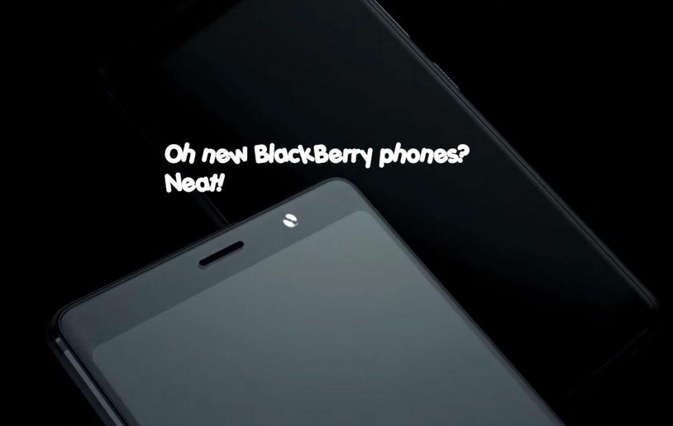 BlackBerry Evolve and X revealed, but not for you