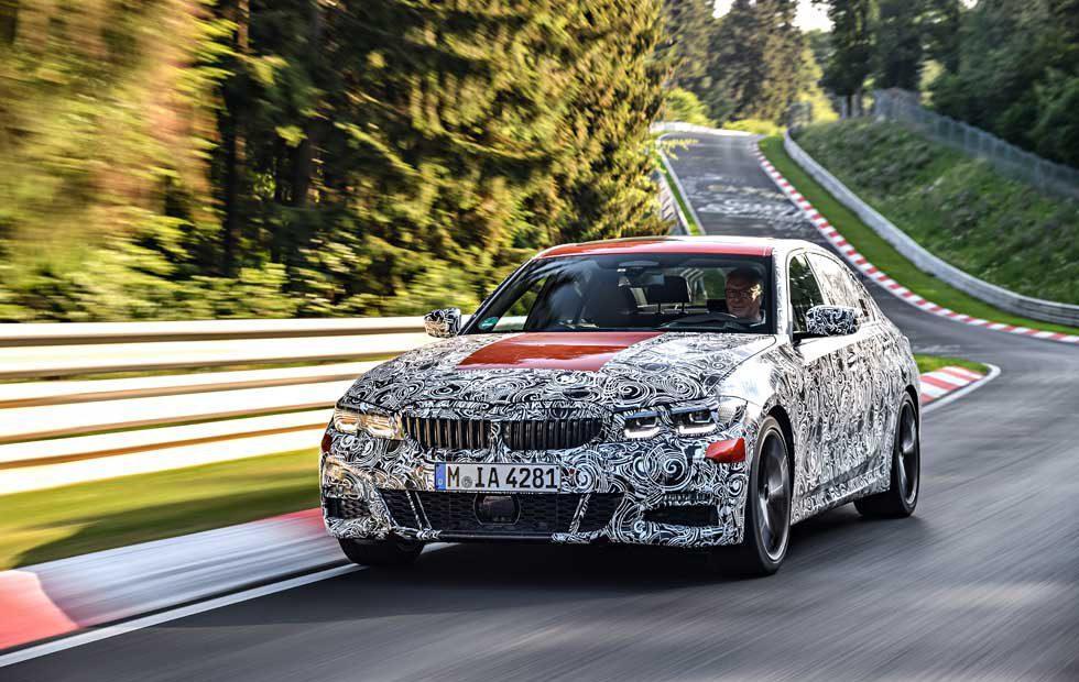 BMW 3 Series Sedan Nürburgring chassis testing complete