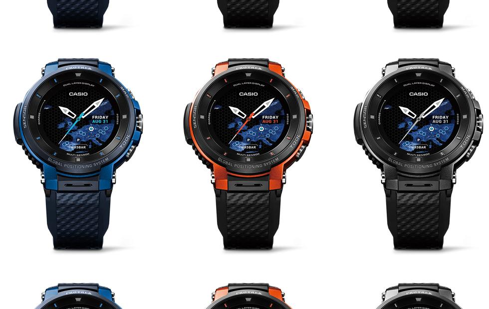 Casio Pro Trek Smart Wear OS watch has potential weeks-long battery