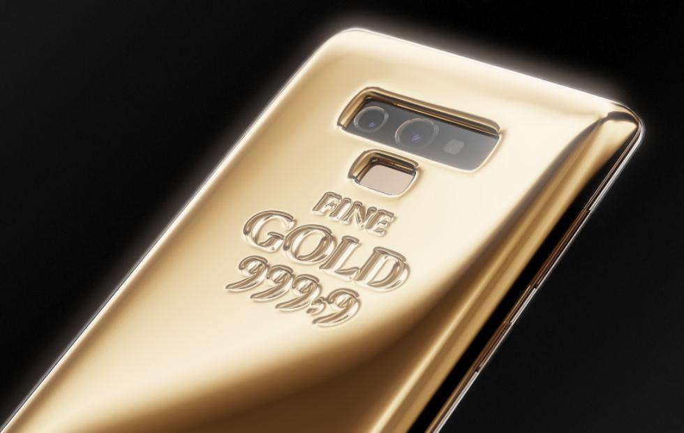 Caviar Galaxy Note 9 puts 1 kg gold on its back