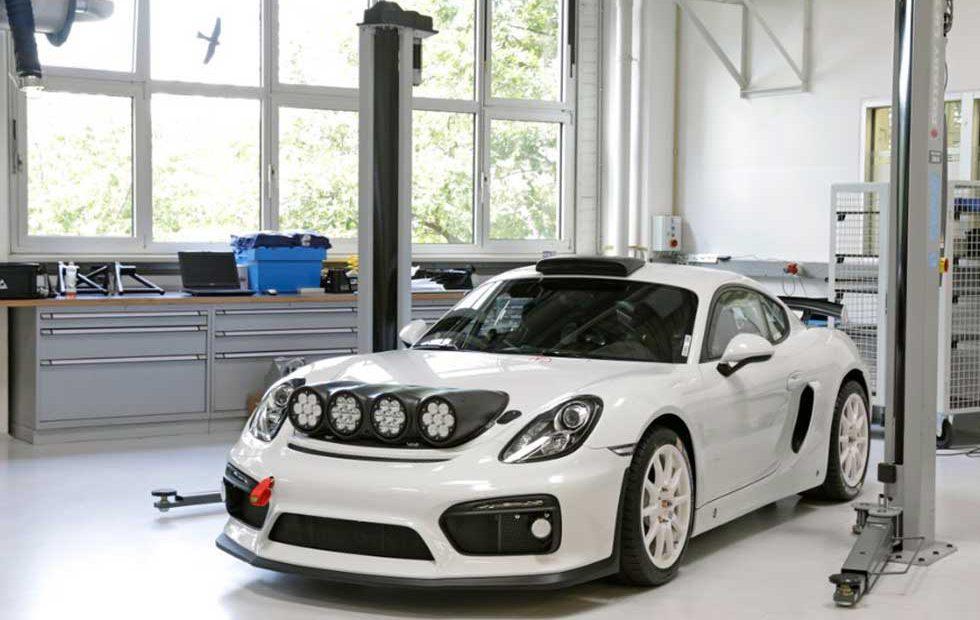 Porsche Motorsport teases Cayman GT4 Clubsport rallye concept