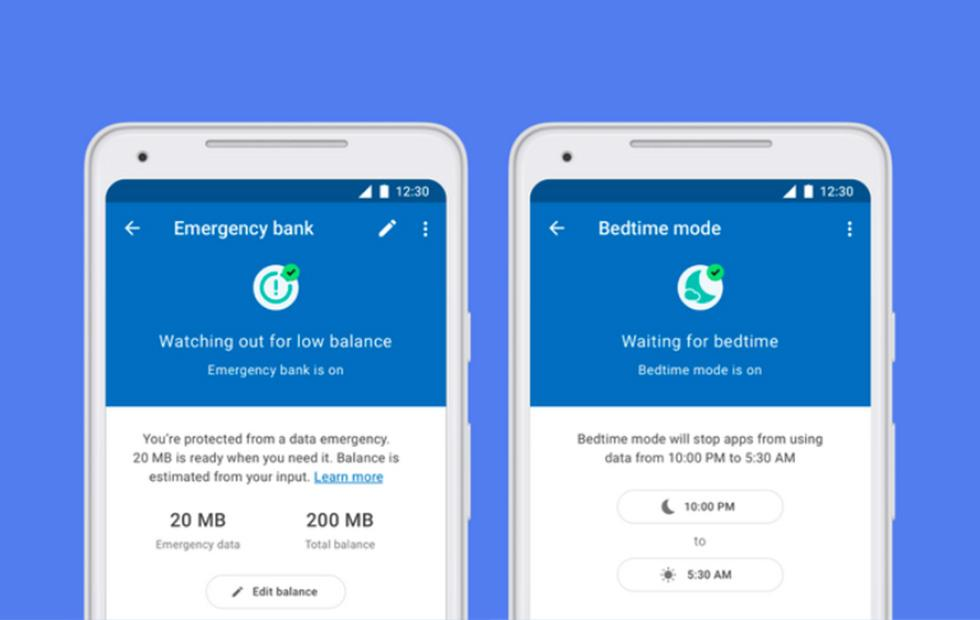 Google Datally adds two new data-saving options: Emergency and Bedtime