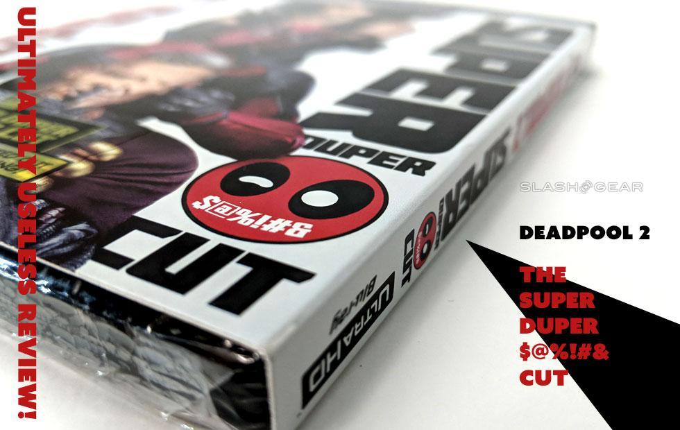 Deadpool Blu-ray DVD Digital Super Duper Cut Review