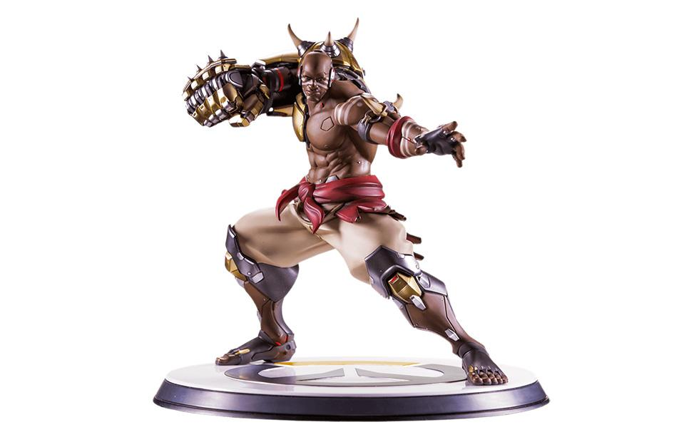 Overwatch Doomfist collectible hand-painted statue goes up for preorder