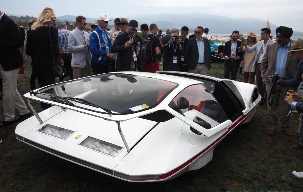 The Ferrari 512S Modulo is a spaceship-like slice of automotive legend