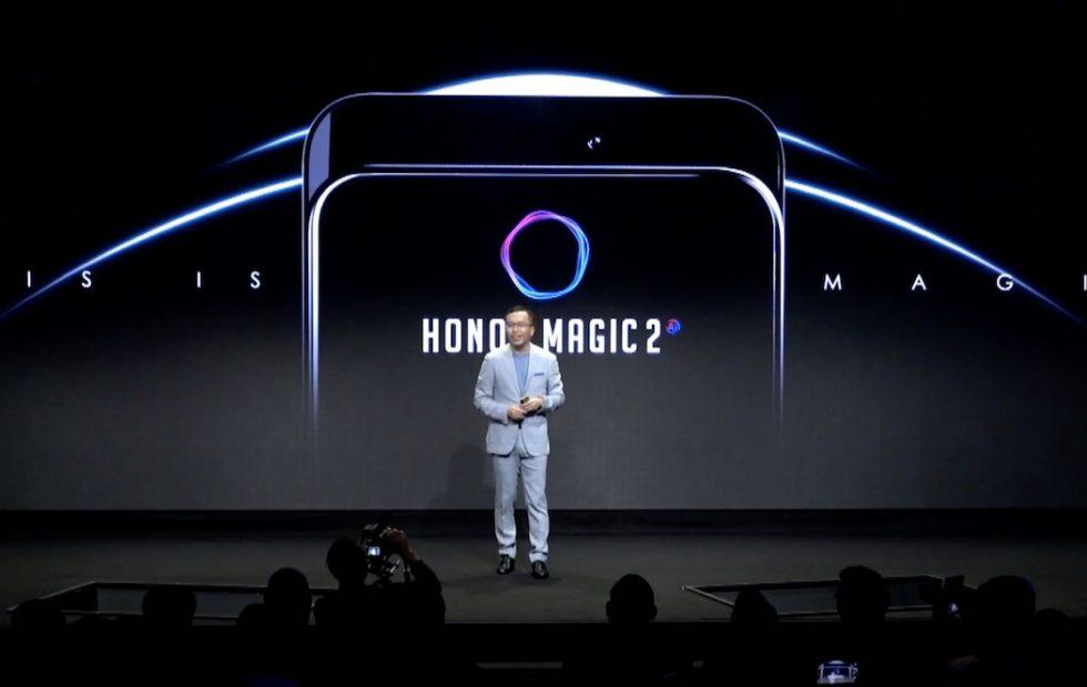 Honor Magic 2 teases slide-out camera, Kirin 980 and tiny bezels