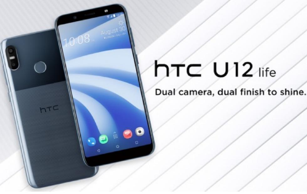 HTC U12 Life touts dual cameras, dual finish, familiar design