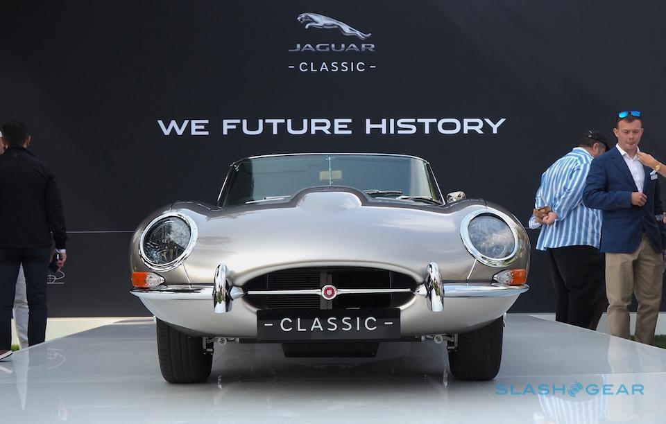 The electric Jaguar E-Type Zero's charm is its authenticity