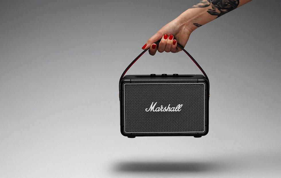 Marshall Kilburn II portable retro speaker has 360° sound
