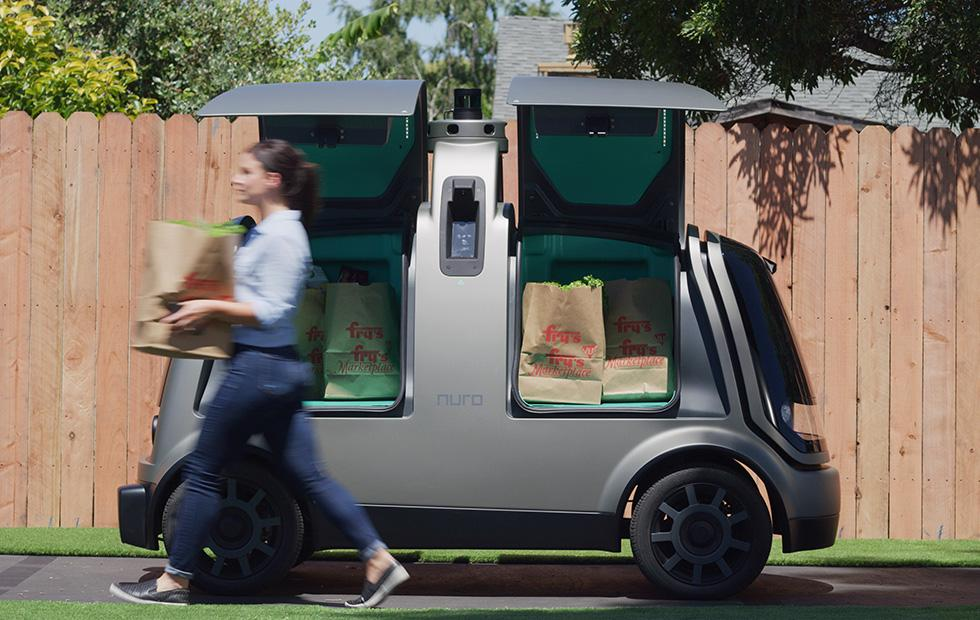 Kroger tests Nuro self-driving grocery delivery cars in Arizona