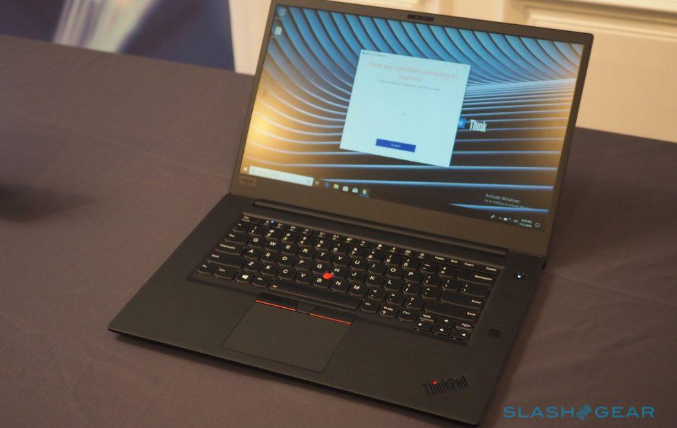 Lenovo ThinkPad X1 Extreme detailed with discrete graphics