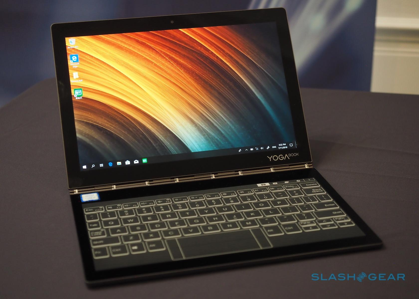 Lenovo Yoga Book C930 Gallery Slashgear