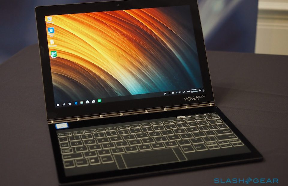 Lenovo Yoga Book C930 hands-on: Dual E Ink and LCD delight - SlashGear