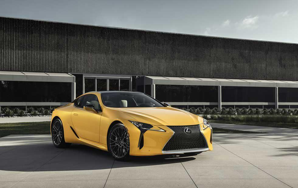 Lexus LC 500 Inspiration Concept turns up at Pebble Beach