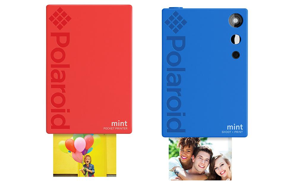 Polaroid Mint 2-in-1 digital camera has built-in photo printer