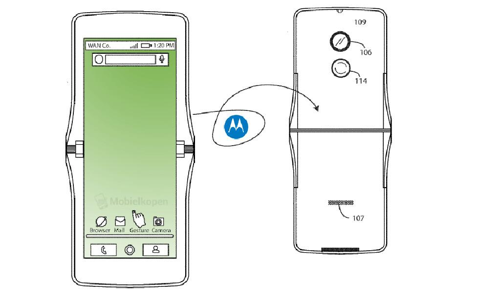 Motorola RAZR could return with foldable screen, suggests patent