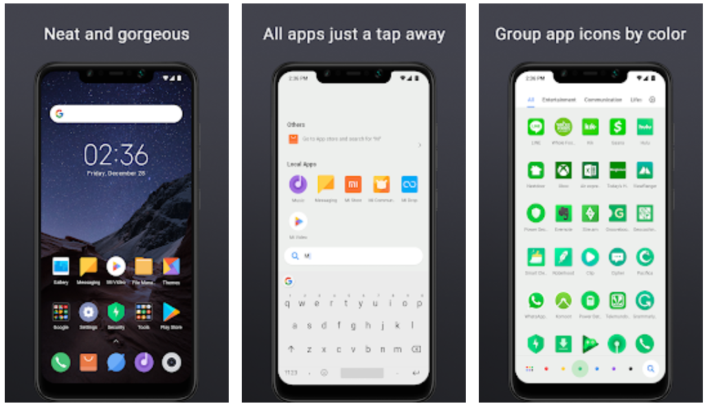 Poco Launcher app now up for download, MIUI Android style