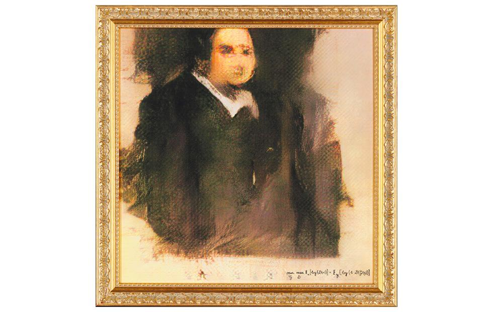 "AI-generated ""painted"" portrait will be auctioned as art by Christie's"