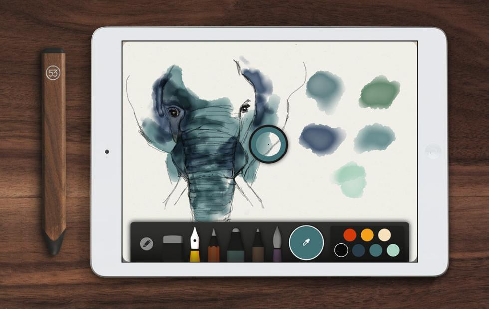 Paper app makers FiftyThree now belongs to WeTransfer