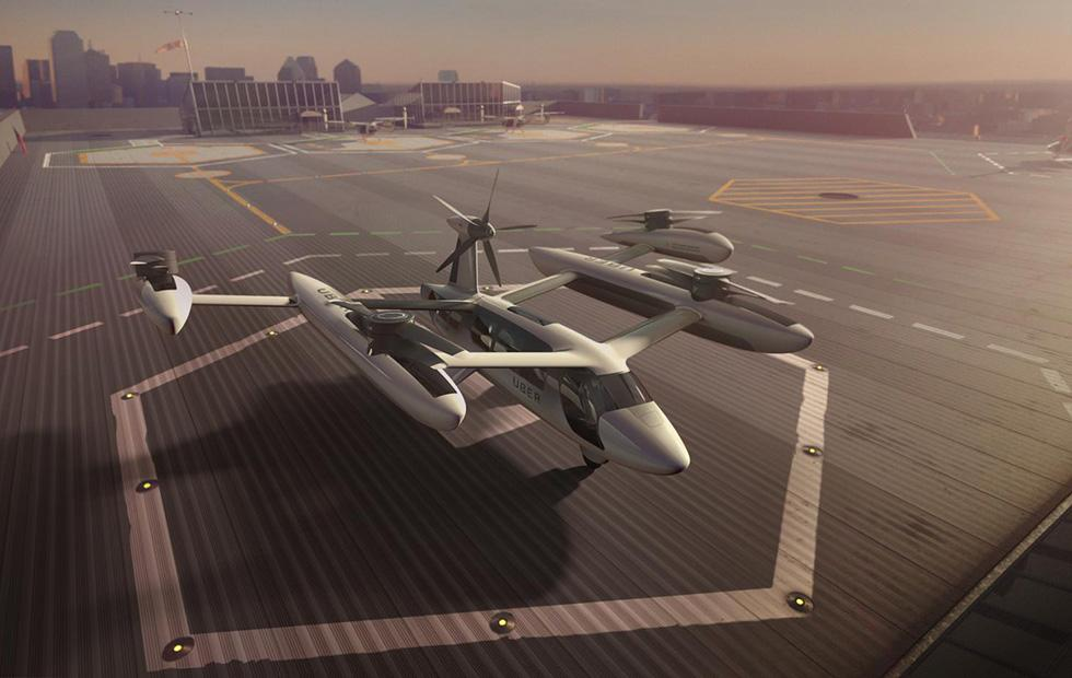uberAIR flying taxi project gets Army Research Labs, UT Austin partners