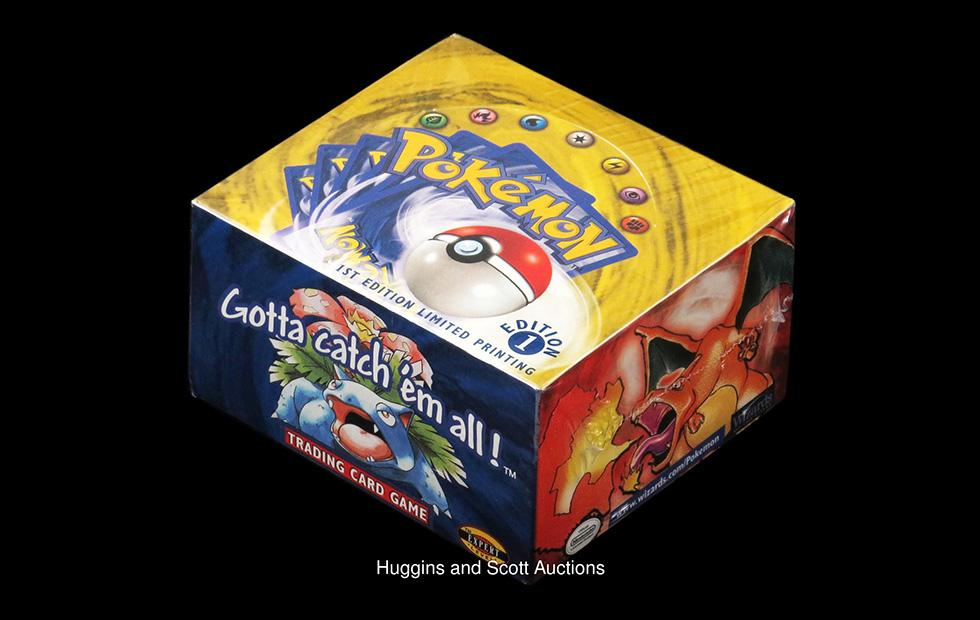 1st Edition 1999 Pokemon unopened card set sells for $56,000