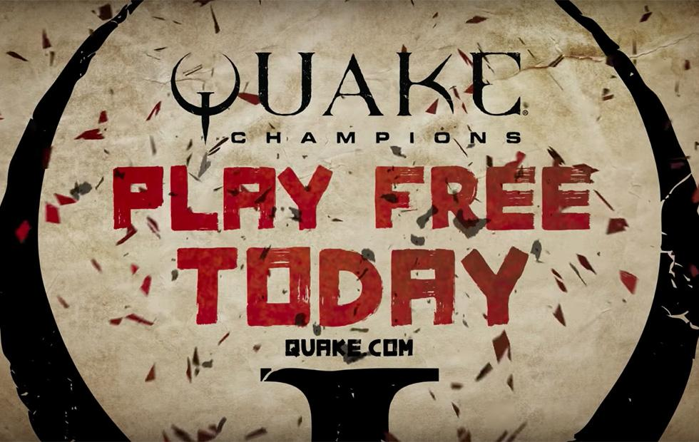 Quake Champions is now permanently free to play