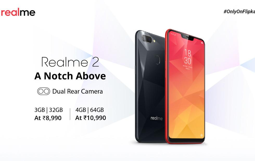 Realme 2 corrects OPPO's mistakes, makes one of its own
