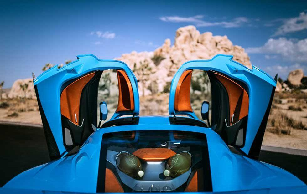 Rimac C_Two heads to Monterey Car Week packing champagne flutes