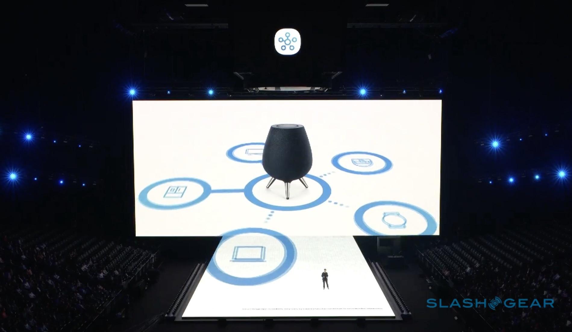 Samsung Galaxy Home Bixby smart speaker HomePod-rival ...