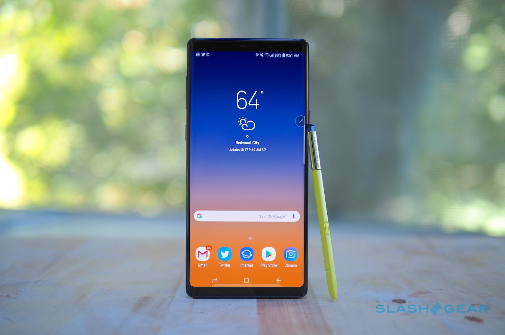 Samsung Galaxy Note 9 Review: Epic phone, epic price - SlashGear
