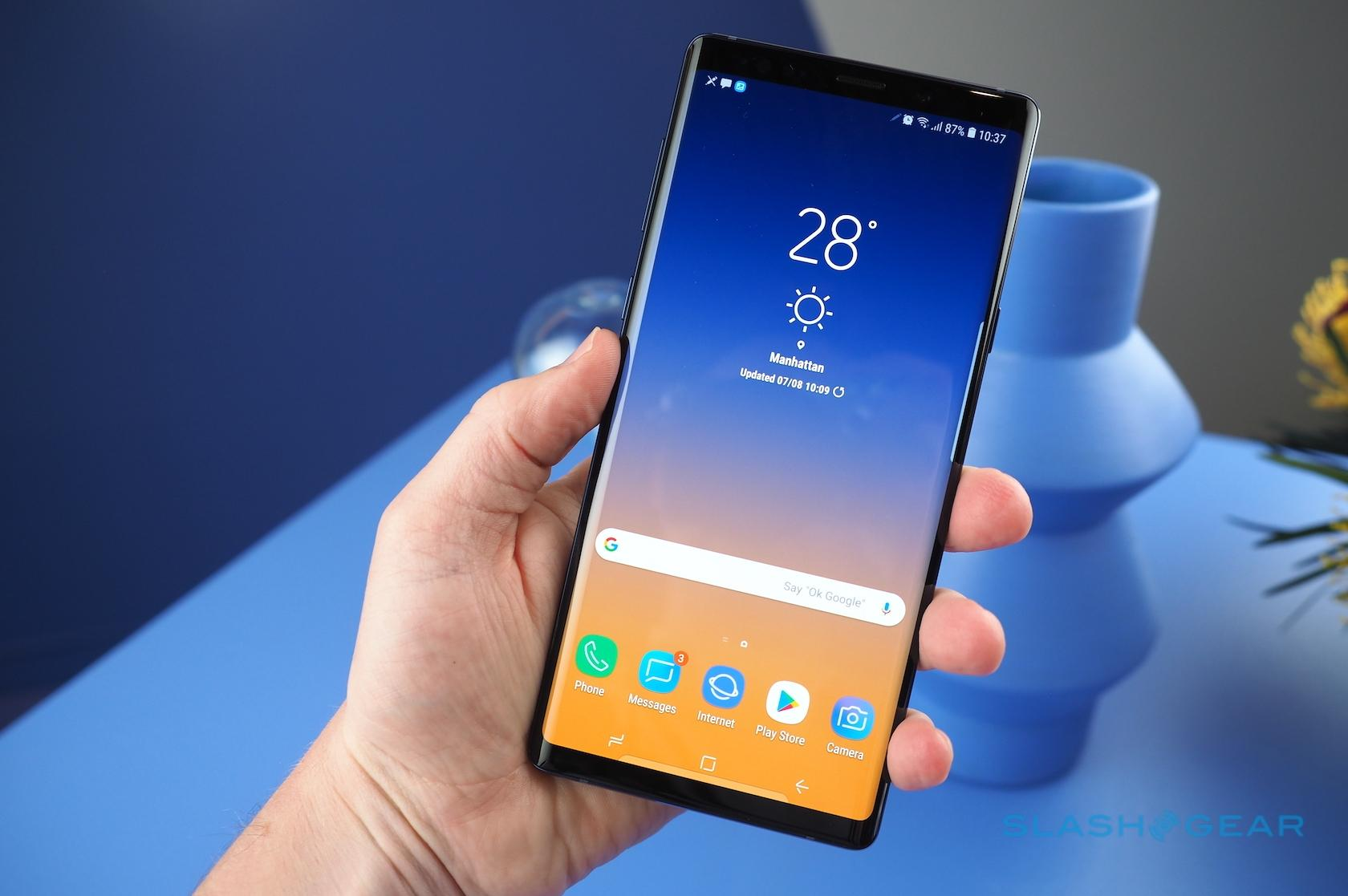 Galaxy Note 9 Vs Note 8 Six Big Changes You Should Know About Slashgear
