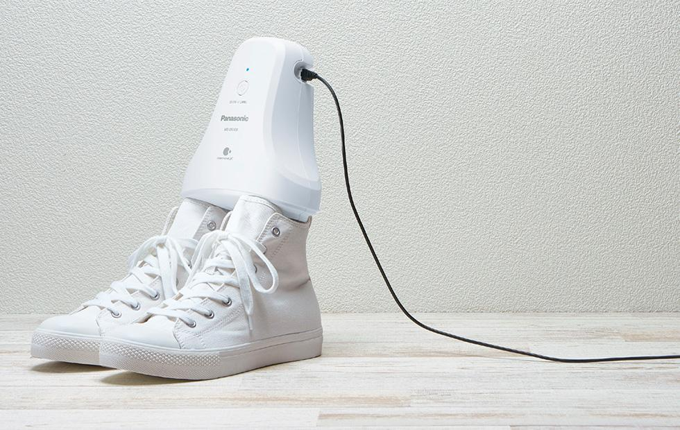 Panasonic has a clever device to de-stink smelly shoes