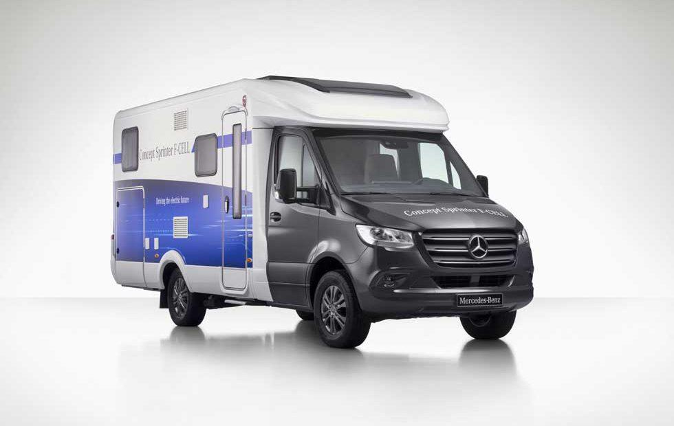 Mercedes unveils Sprinter camper van concepts - SlashGear