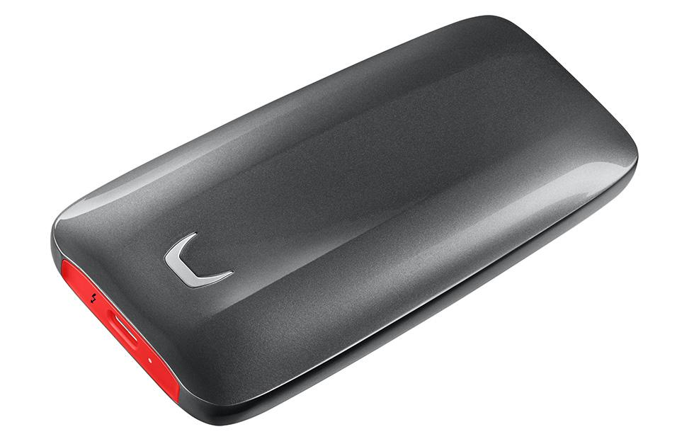 Samsung Portable SSD X5 can transfer a 20GB video in 12 seconds