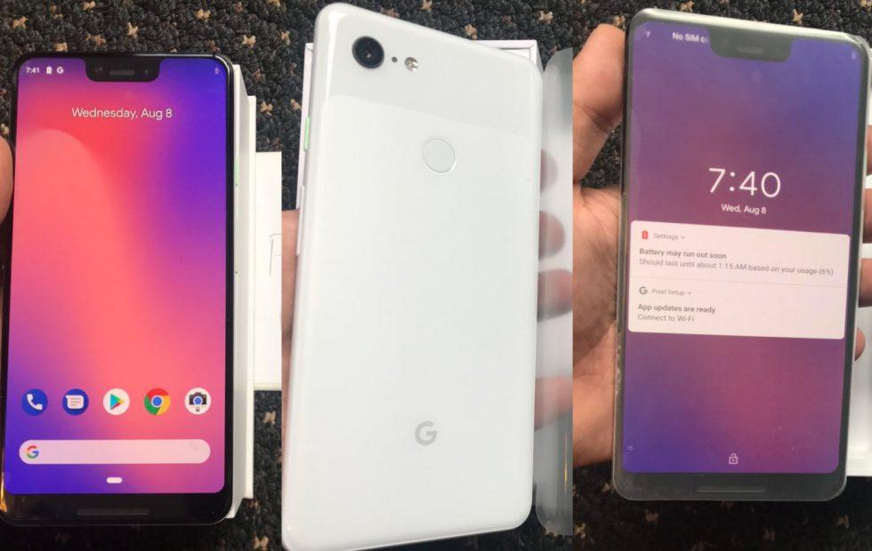 Here's that Pixel 3 shipment for sale on the black market