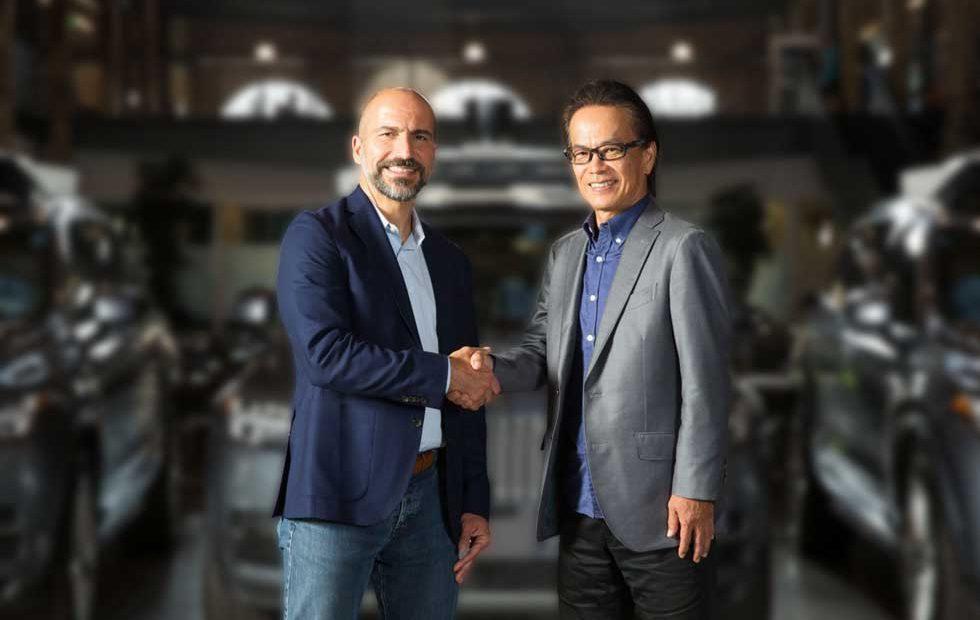 Uber and Toyota extend autonomous auto technology collaboration