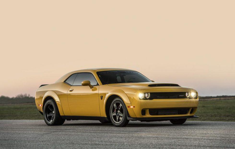 Hennessey Dodge Demon ups drag racer's horsepower to over 1,000