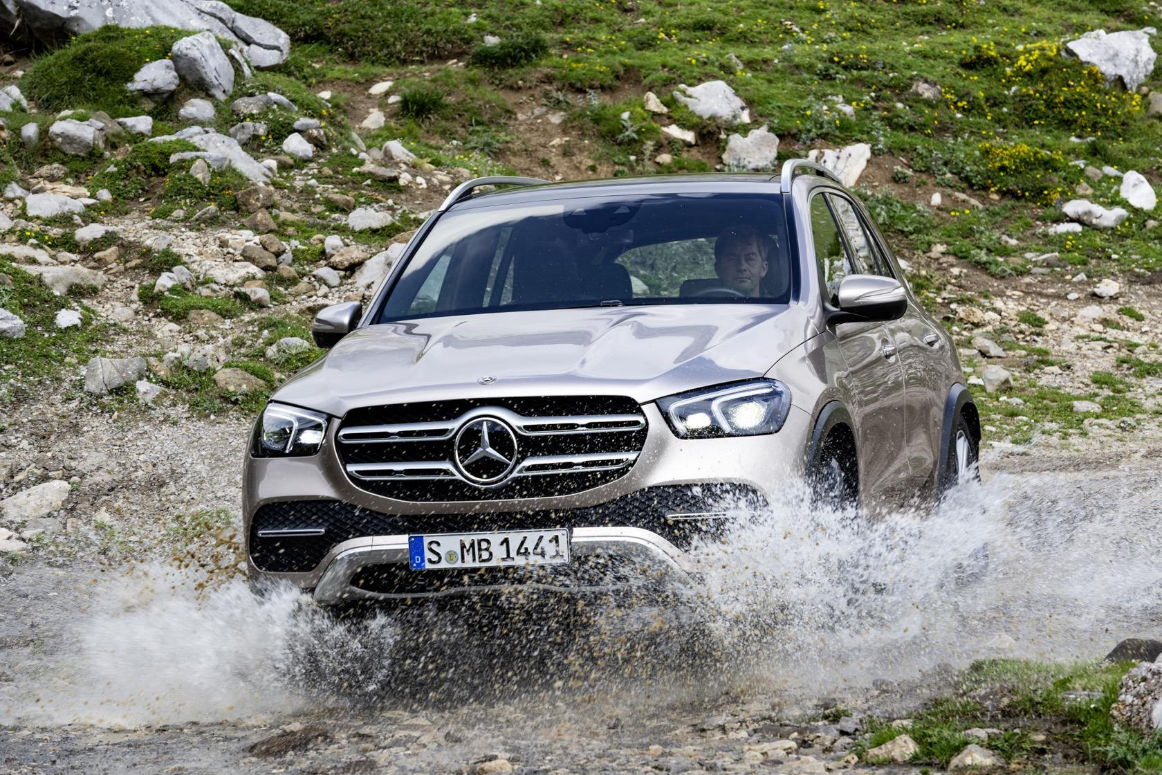 2020 Mercedes-Benz GLE adds third-row, 48v suspension and