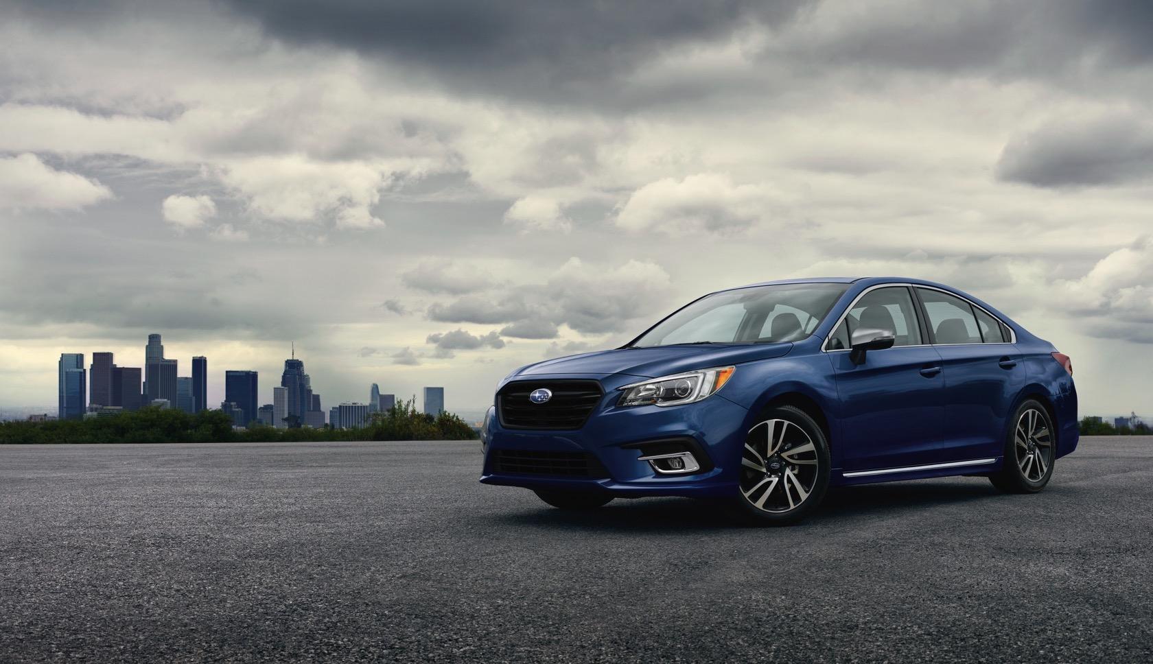 2018 Mazda6 vs 2019 Ford Fusion vs 2019 Subaru Legacy: Midsize Sedan
