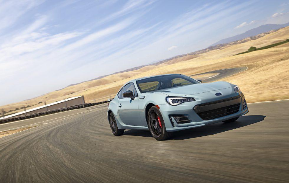 2019 Subaru BRZ Series.Gray leads punchy coupe into new model year