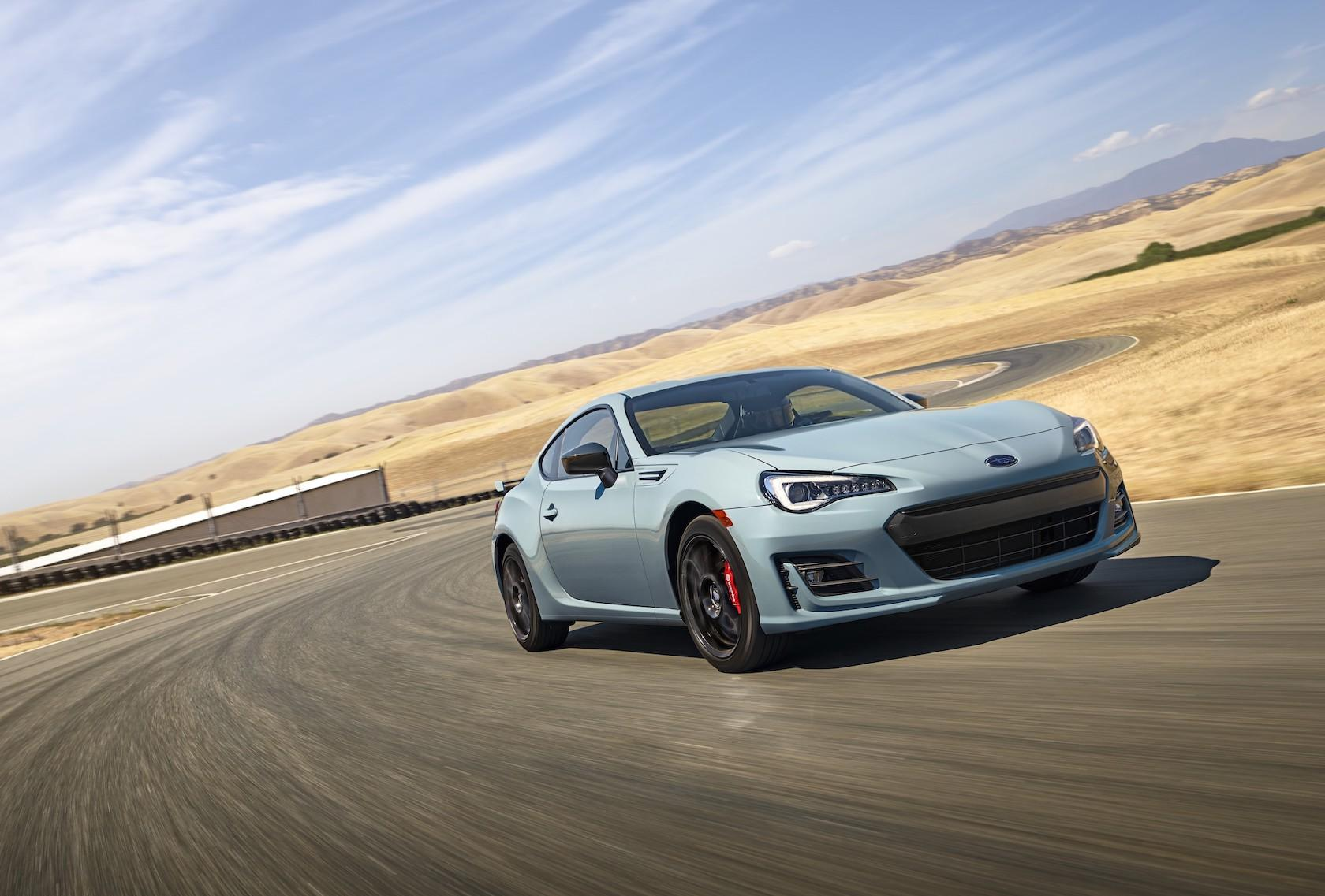 2019 Subaru BRZ Series.Gray leads punchy coupe into new ...