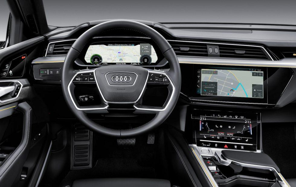Alexa Goes Native In 2019 Audi E Tron Ev S Dashboard