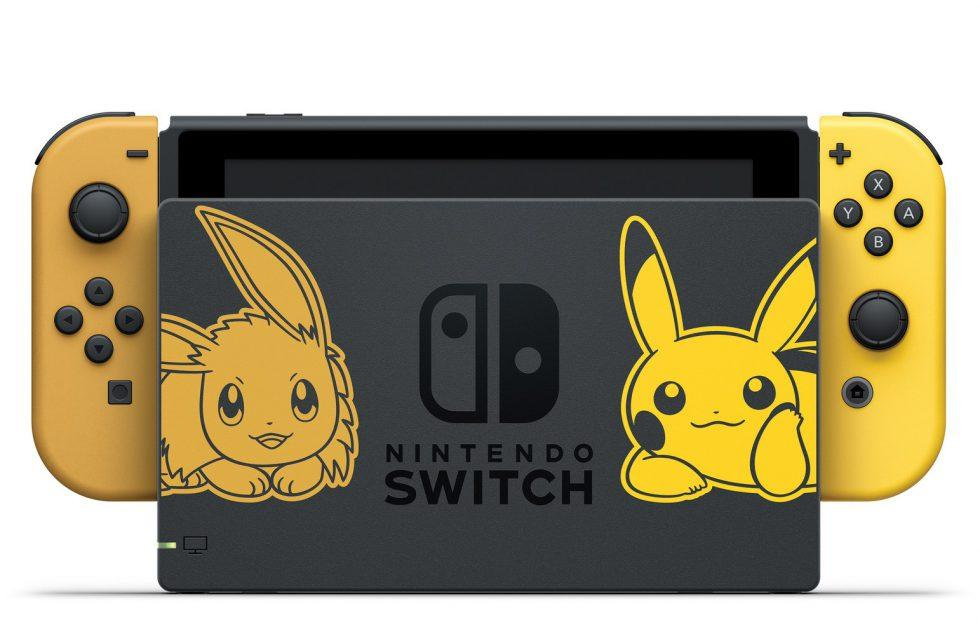 Special edition Nintendo Switch announced for Pokemon Let's Go