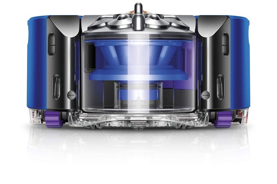 Dyson 360 Heurist robot vacuum can see at night