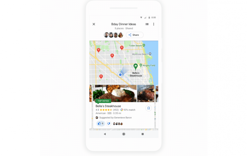 Google Maps Group Planning launches: Here's how to use it