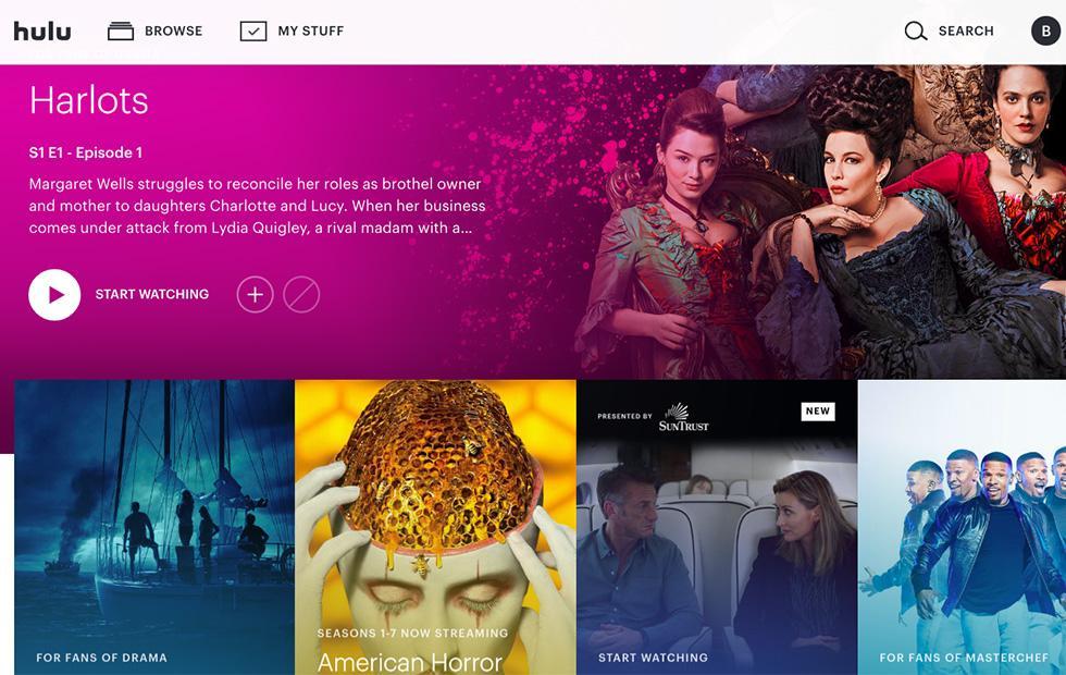 Hulu website redesign brings simple, modern new look