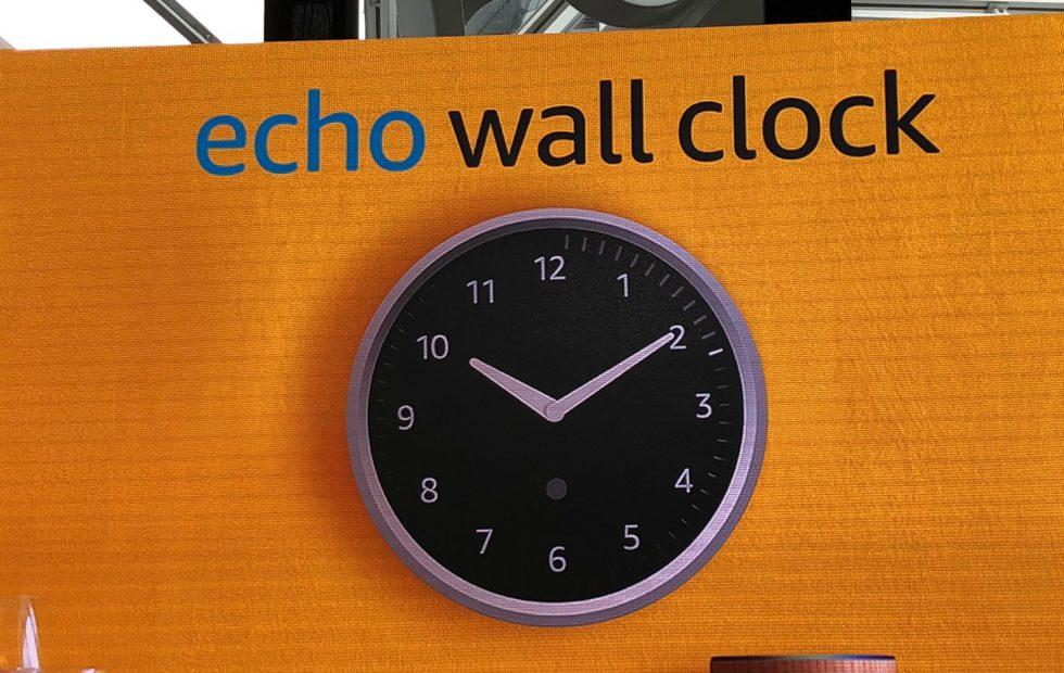 Amazon announces the Echo Wall Clock because honestly why not