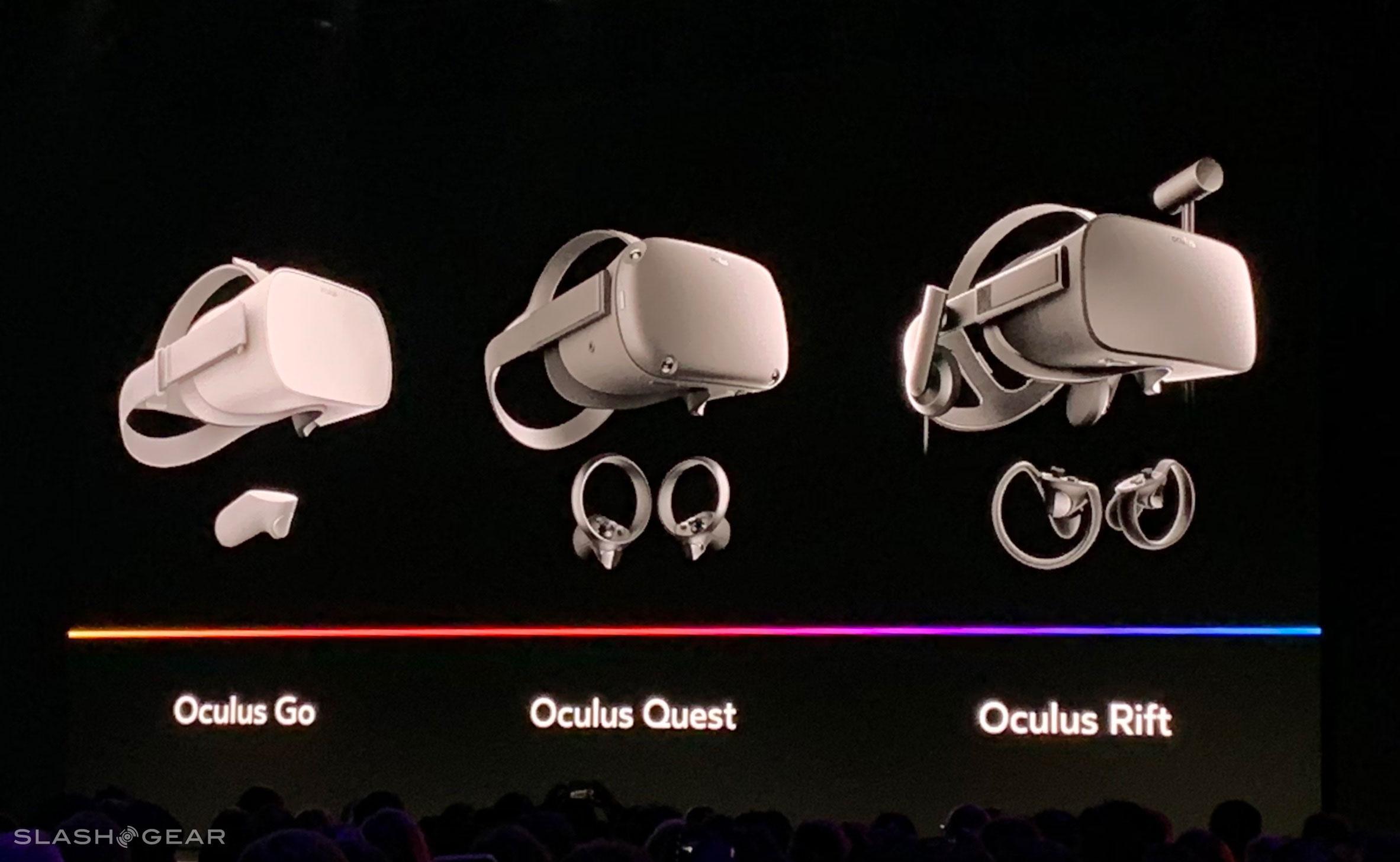Oculus Quest Detailed Freedom Between Go And Rift Slashgear