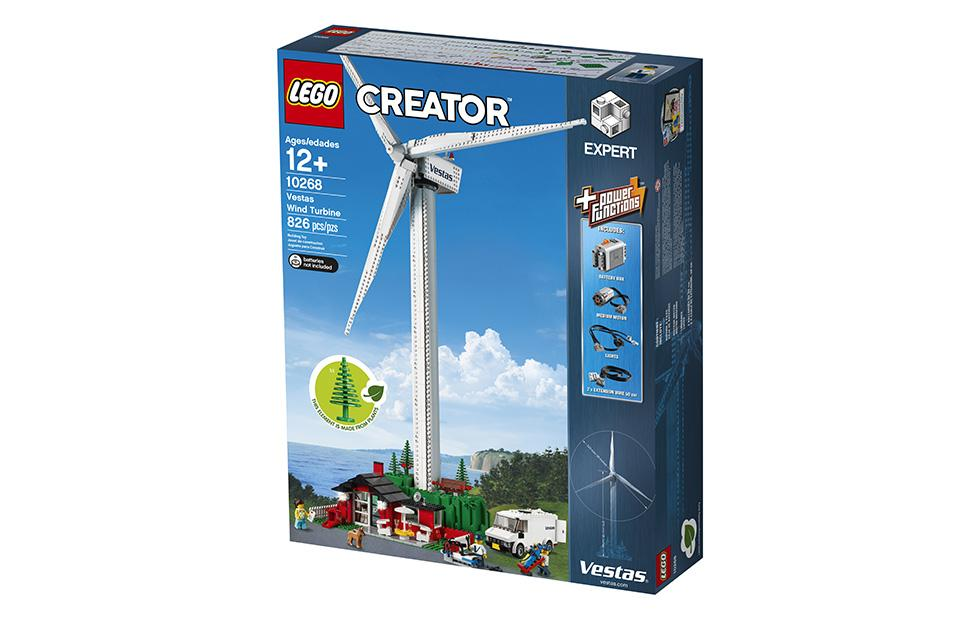 LEGO Vestas Wind Turbine set arrives with plant-based plastic bricks